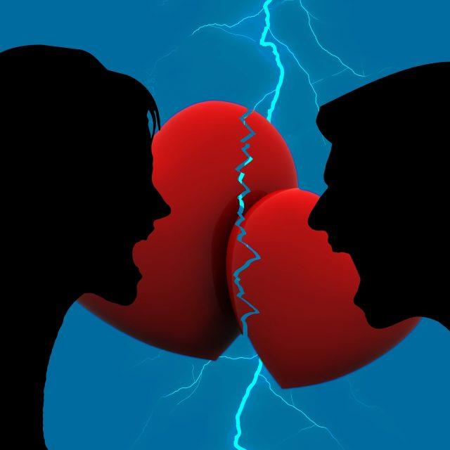 Mon ex m'a quitté car il/elle ne supportait plus nos disputes.